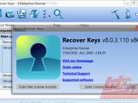 One up LTD Recover Keys 8 جستجو لایسنس رجیستری