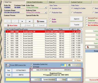 دانلود آخرین نسخه نرم افزار Ercom 2000 v14 در و پنجره UPVC