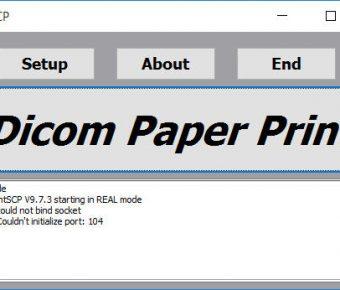 دانلود کرک نرم افزار Print SCP چاپ DICOM  و سرور