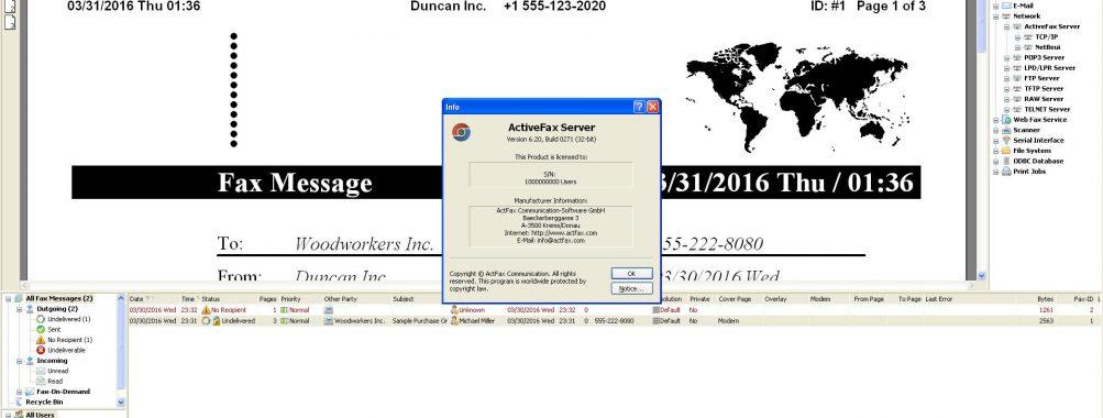 دانلود نرم افزار مدیریت فکس ActiveFax ActFax نسخه Enterprise