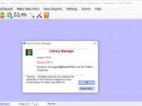 دانلود نرم افزار مدیریت کتابخانه Library Manager با قابلیت ریموت دیتابیس