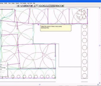 دانلود نرم افزار ایریکد IRRICAD طراحی و محاسبه سیستم های آبیاری تحت فشار کشاورزی