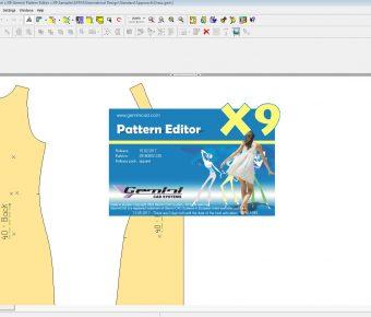 دانلود کرک نرم افزار جمینی Gemini Cad Pattern Editor Cut طراحی لباس