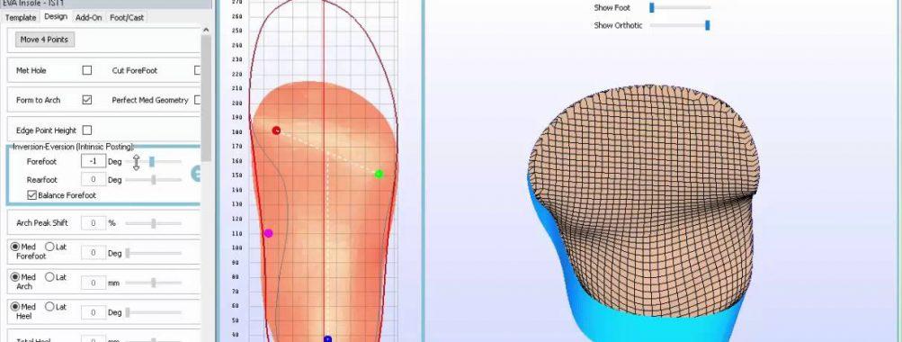 دانلود نرم افزار ایزوله کد isoleCad طراحی کفی طبی پا کفش