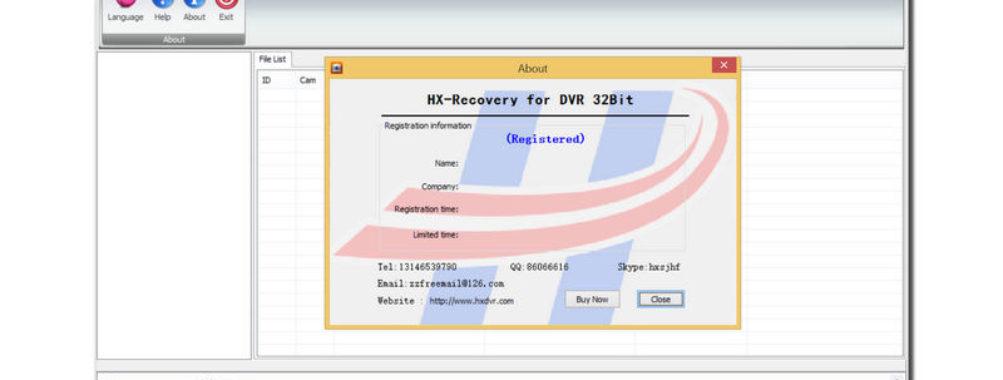 نرم افزار HX DVR Recovery بهترین ریکاوری بازیابی هارد DVR CCTV