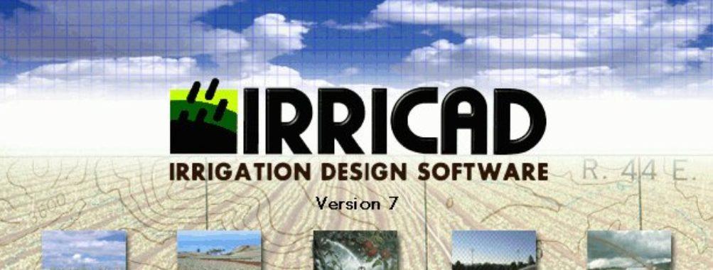 دانلود کرک نرم افزار Irricad 15 برنامه ایریکد آبیاری تحت فشار کشاورزی
