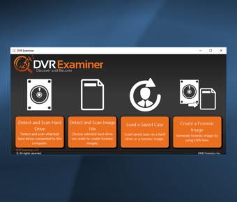 نرم افزار DVR Examiner Recovery ریکاوری هارد CCTV اگزاماینر اگزمینر