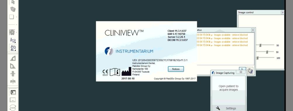نرم افزار CilinicView 11.4 دندان پزشکی سازی تصویری برداری DICOM