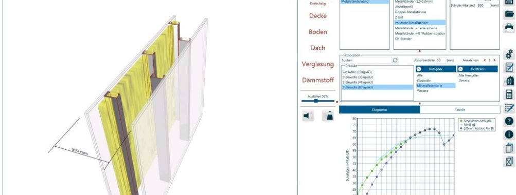 دانلود کرک نرم افزار اینسول INSUL 9 طراحی تحلیل پیش بینی عایق صدا